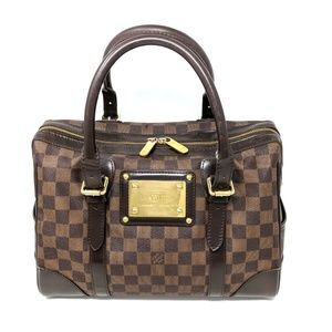 Louis Vuitton LV Bag Damier Ebene Berkeley Satchel